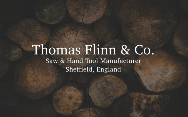 thomas flinn co brand lock up 4 - Our definition of what constitutes Made in Britain.
