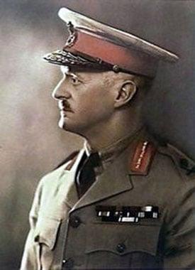 porteait of Gordon Bennett Australian army officer