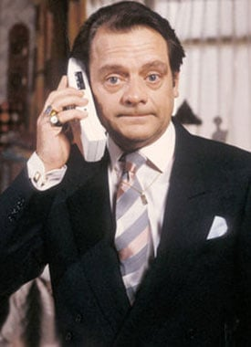 poertait of Del Trotter played by David Jason