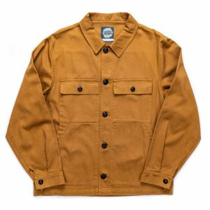 Khaki Drivers Jacket