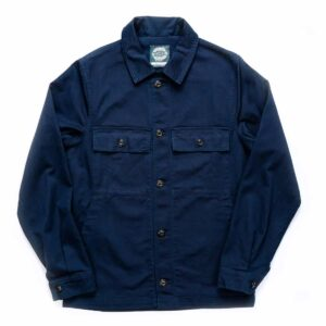Navy Drivers Jacket