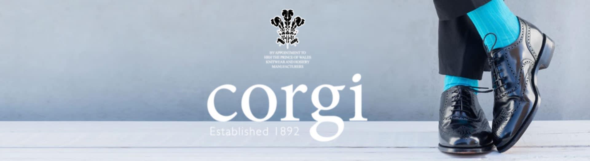 1920x525 Corgi socks Logo header 2