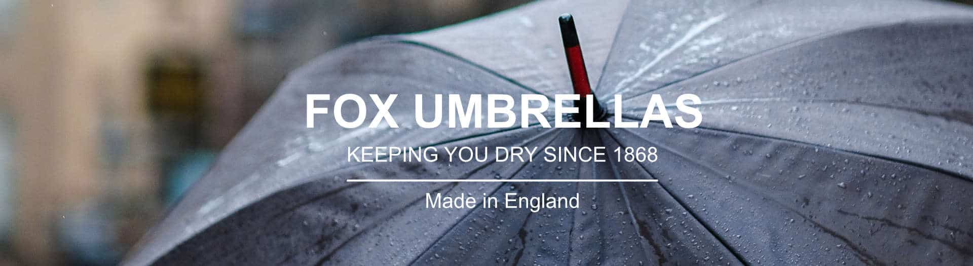 Handmade Fox Umbrellas Logo Header
