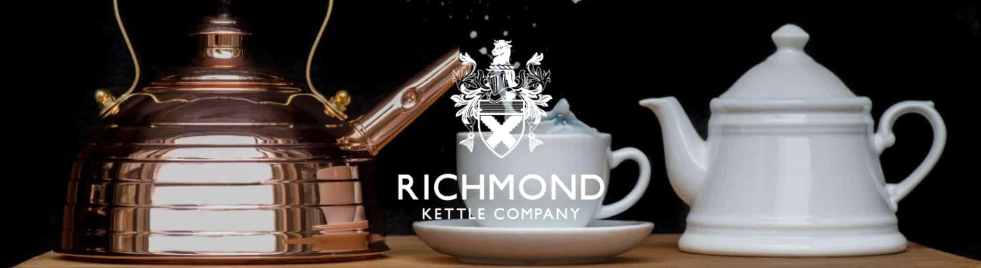 British Made Richmond Kettle And Tea Cups
