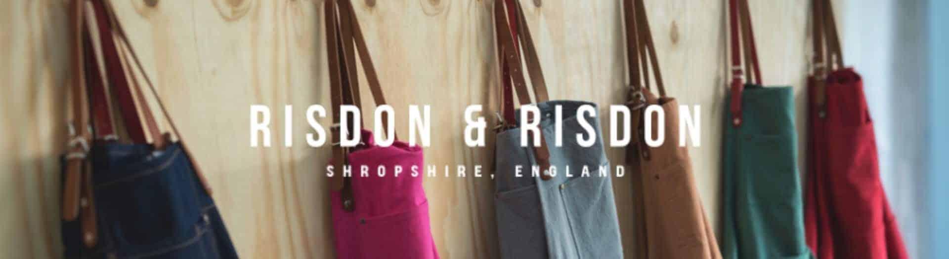 Risdon And Risdon Handmade Aprons Logo Header