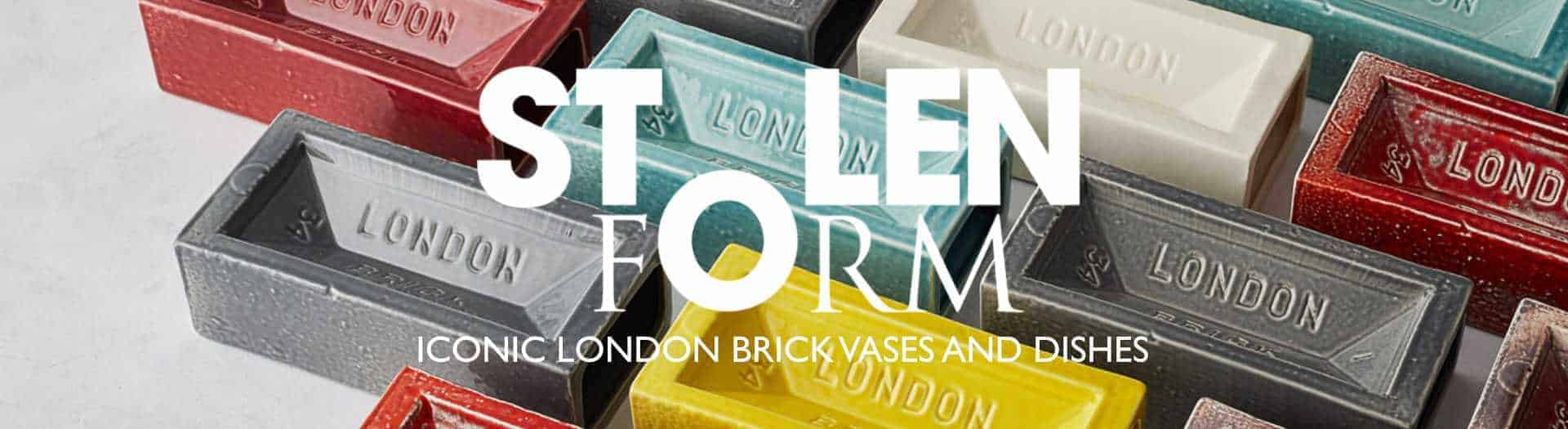 Stolen Form London Brick Vase and London Brick Dish header