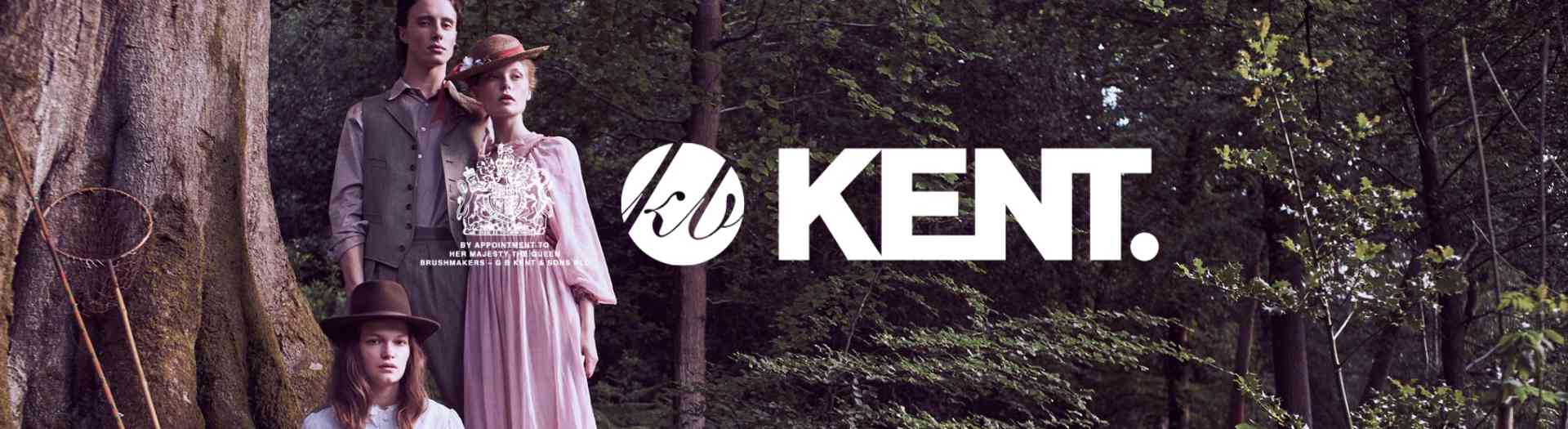 Kent British Made Natural Hairbrush