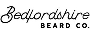 black and white bedfordshire beard co logo