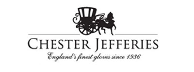 black and white chester jefferies logo