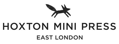 black and white hoxton mini press logo