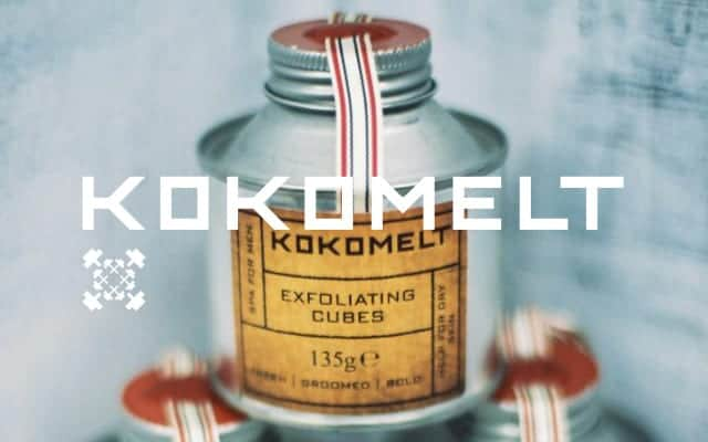 kokomelt brand lock up - British Brands