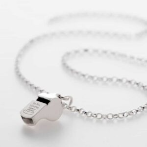 Sterling Silver Whistle Necklace