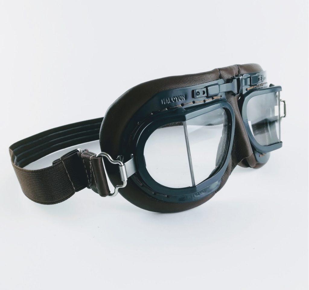 mk8 raf replica goggles, halcyon goggles RAF flying vintage goggles
