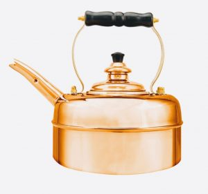 Heritage No1 Copper Whistling Kettle
