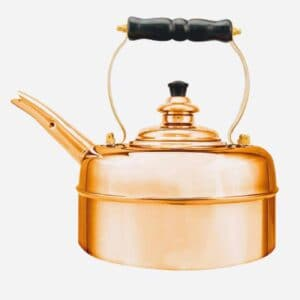 Richmond kettles copper whistling kettle, handcrafted traditional whistling copper kettle. richmond kettle company