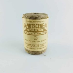 nutscene natural twist jute twine garden twine and crafting twine natural made in scotland