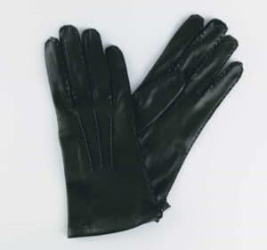 The City Gent Gloves | Black Leather – Small