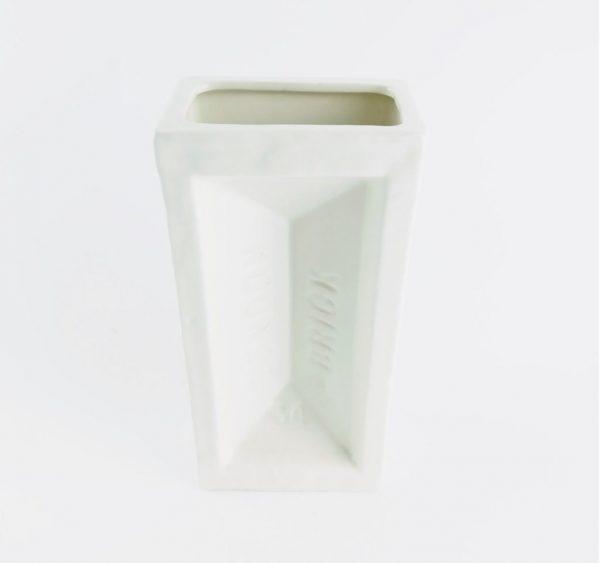White London Brick Vase