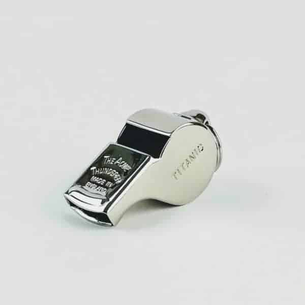 ACME nickel plated titanic whistle silver