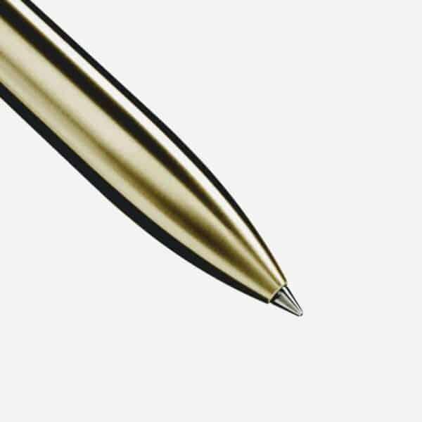 Raw Brushed Brass Pen