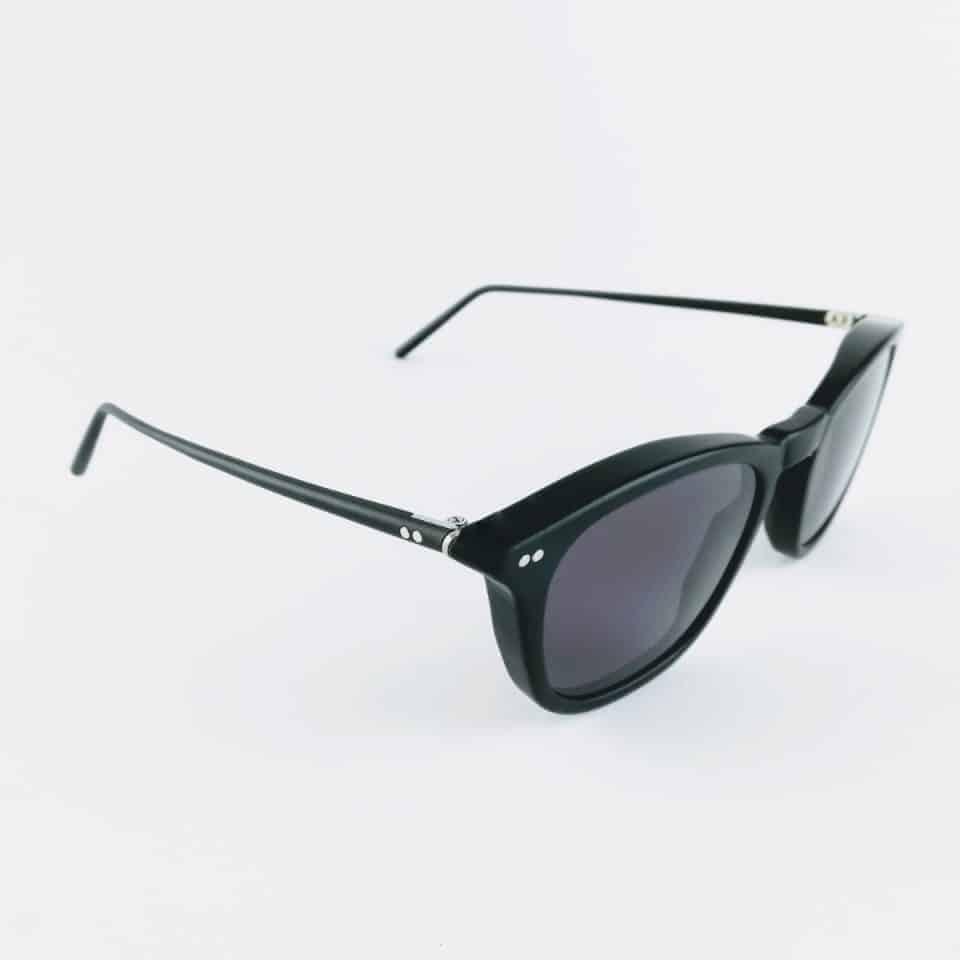 banton frame works black profile sunglasses luxury sunglasses british made sunglasses