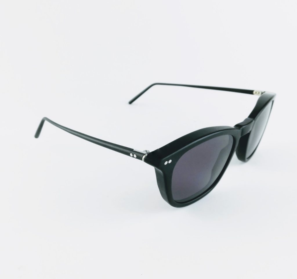 banton frame works black profile sunglasses 1 - British made luxury handcrafted unique gifts for her