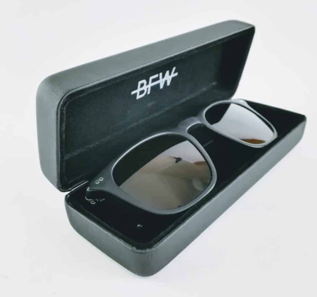 banton frame works black profile sunglasses 2 - British made luxury handcrafted unique gifts for her