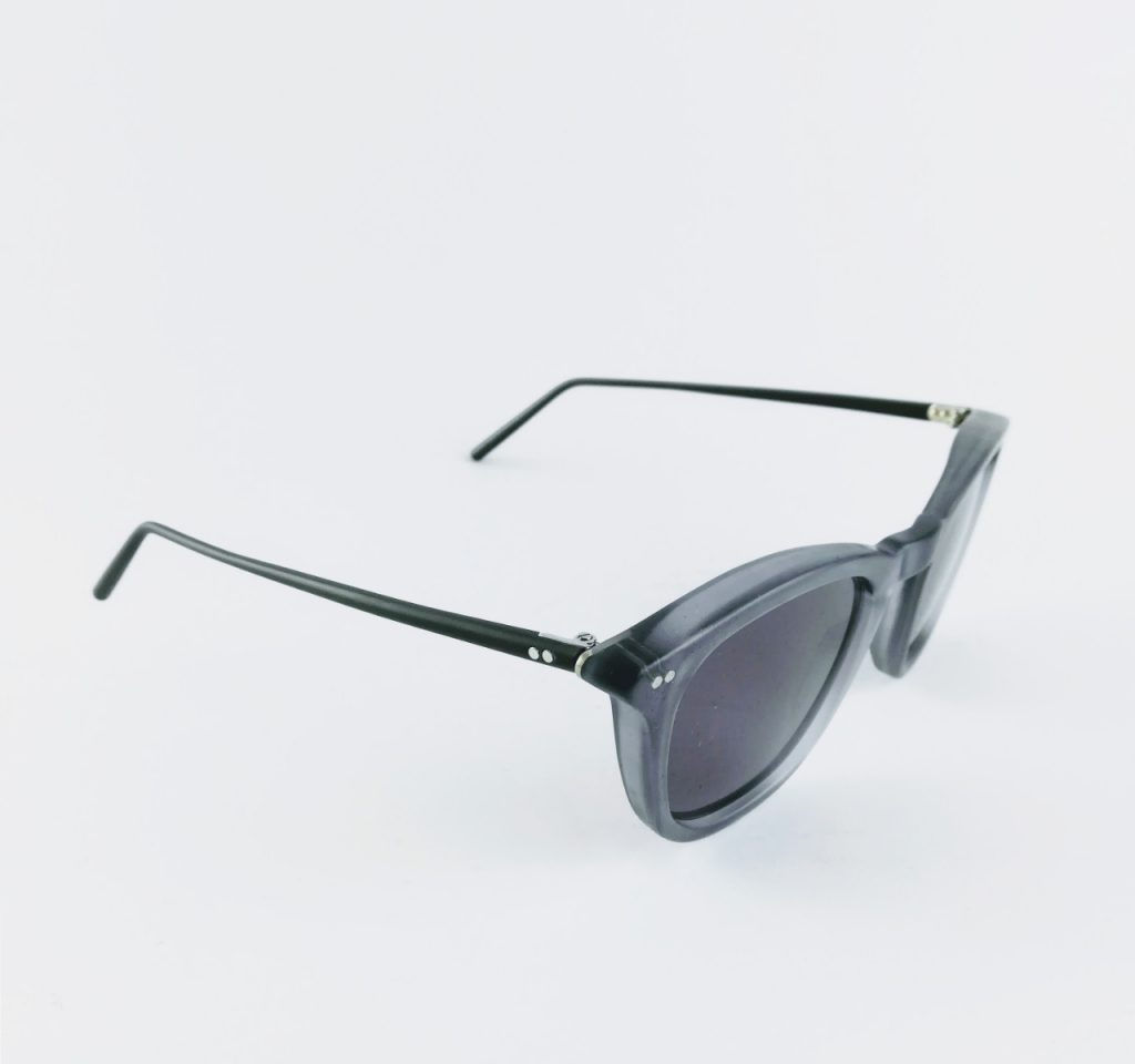 banton frame works grey profile sunglasses 1 - British made luxury handcrafted unique gifts for him