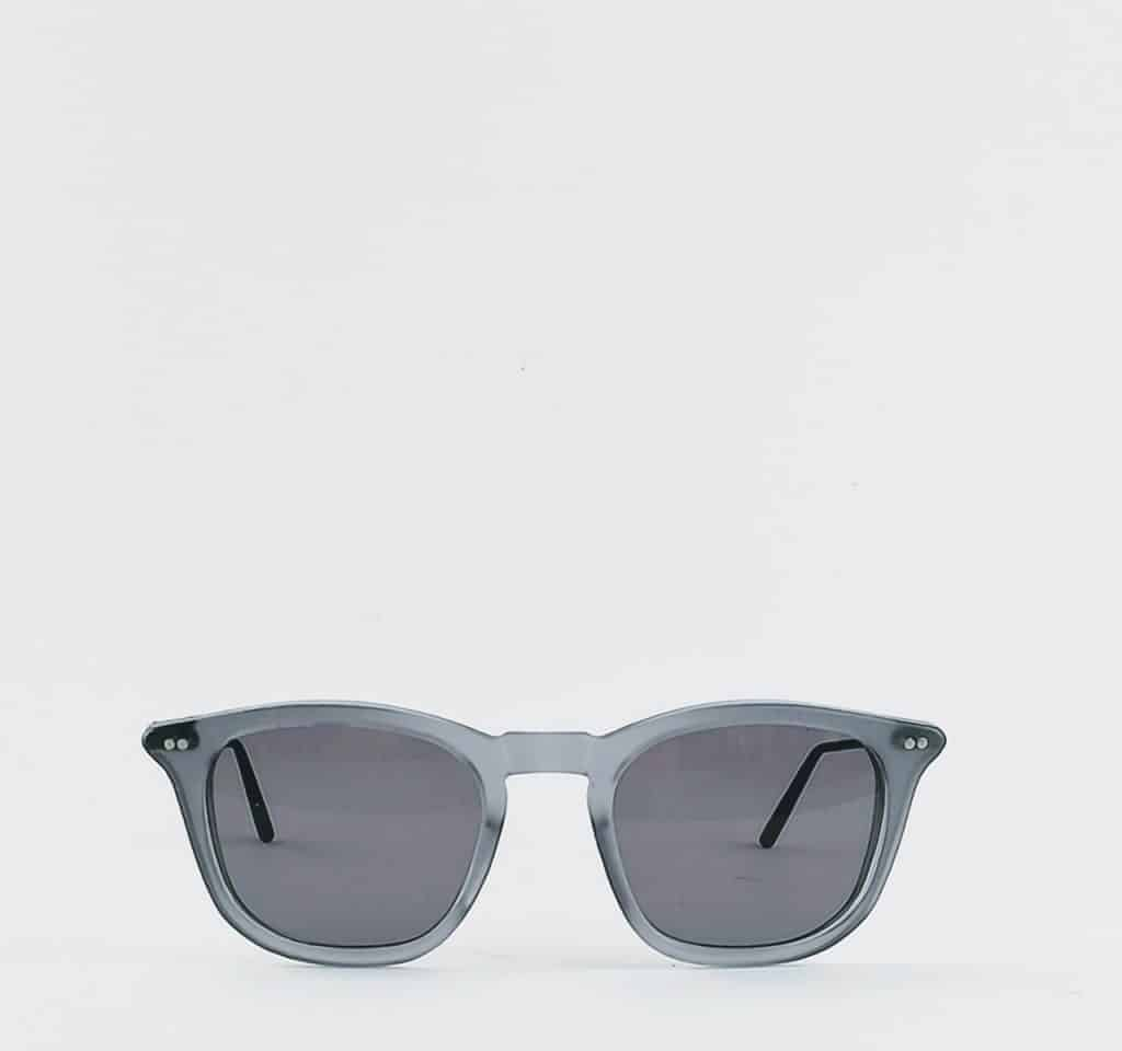 banton frame works grey profile sunglasses 2 - British made luxury handcrafted unique gifts for him