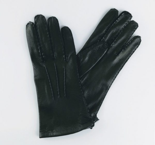 The City Gent Gloves | Black Leather