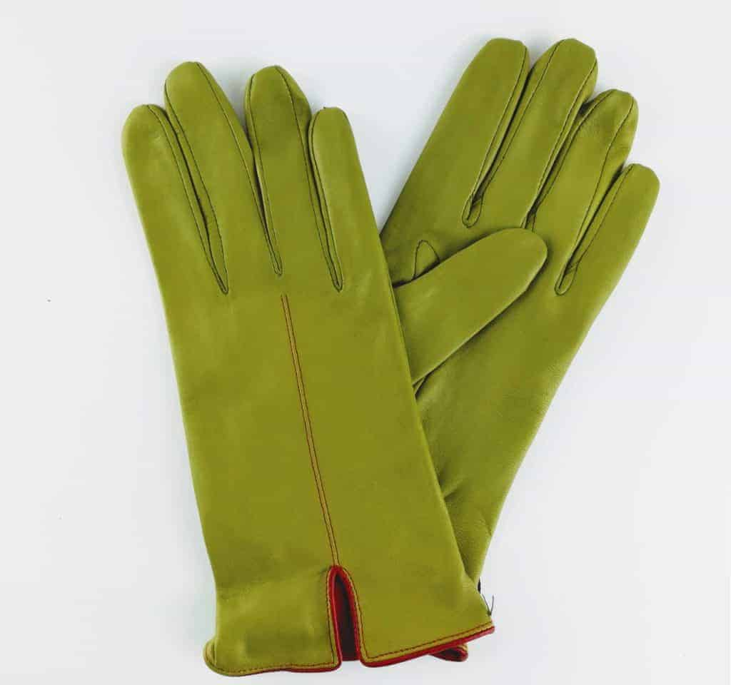 chester jeffries the kingsman men s gloves fennel and cape red leather 1 - British made luxury handcrafted unique gifts for him
