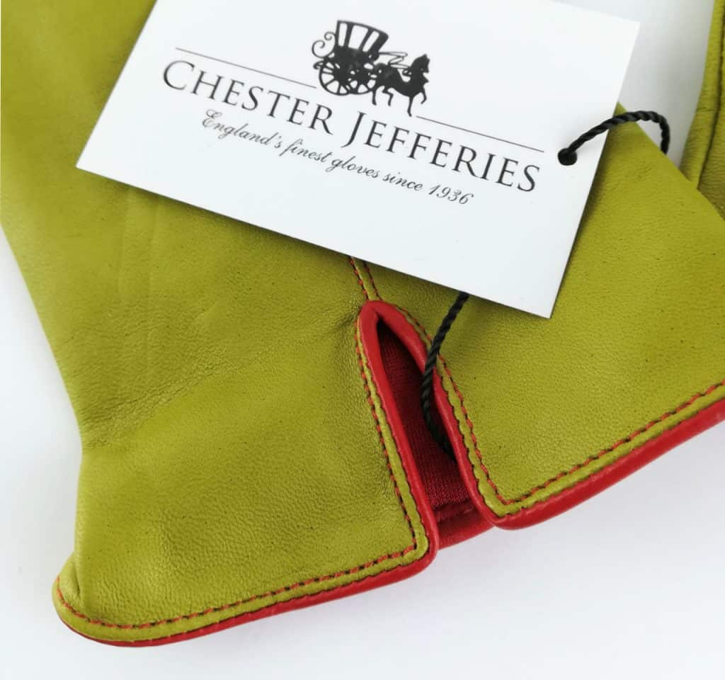 chester jeffries the kingsman men s gloves fennel and cape red leather 3 - British made luxury handcrafted unique gifts for him