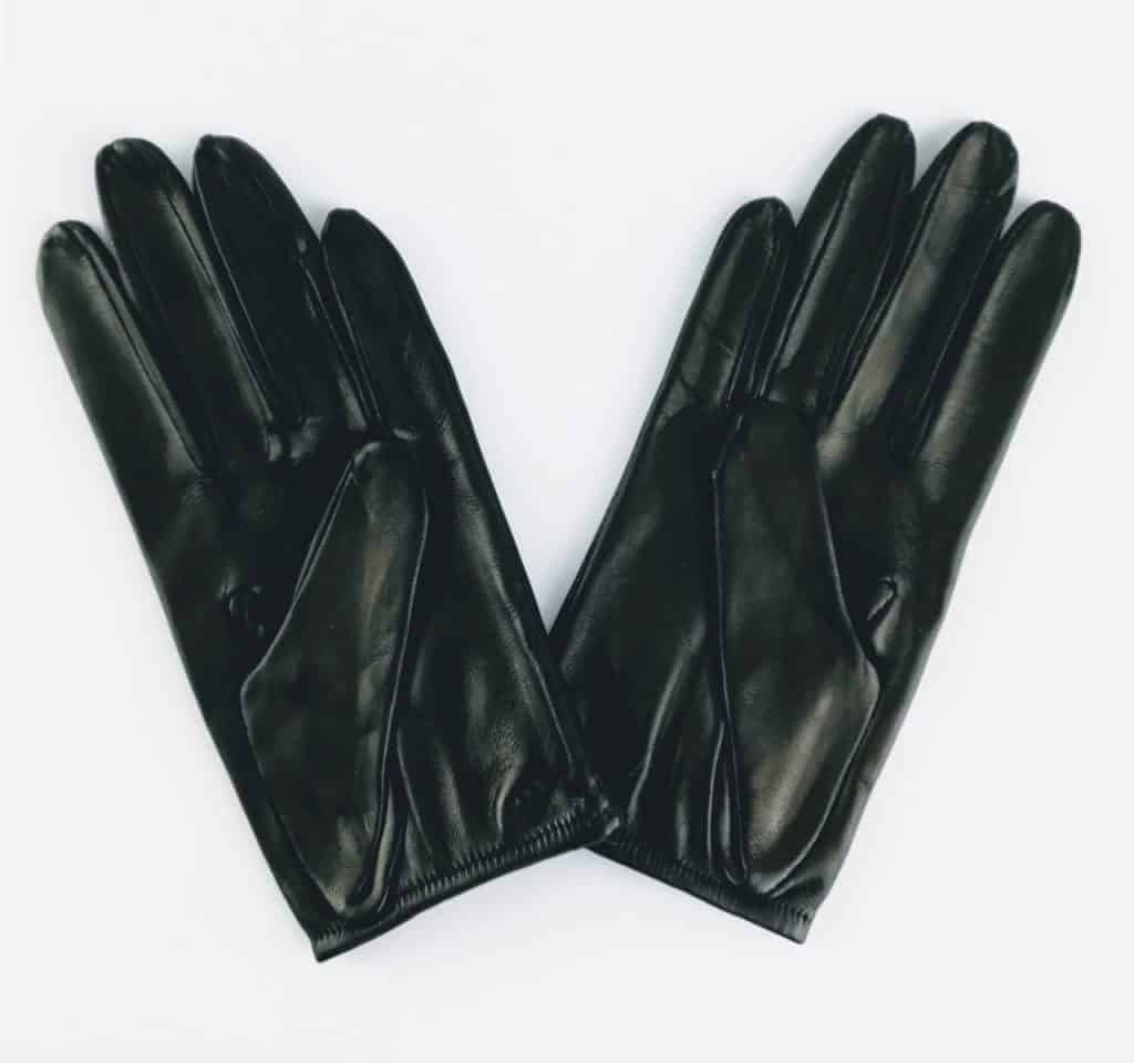 chester jeffries the prom black leather gloves 2 - British made luxury handcrafted unique gifts for her