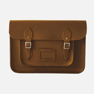 original satchel store Chestnut Brown Leather Satchel