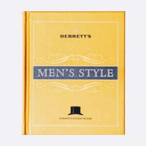 debrett s men's style, book on style for men, satorial style for men book, small book for men