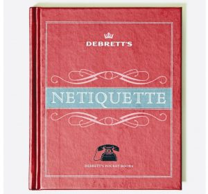 red debrett's netiquette book