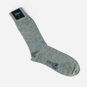 corgi Grey coloured Wool Socks