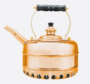 Heritage No3 Copper Whistling Kettle