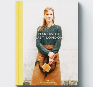 Makers of East London book with yellow spine