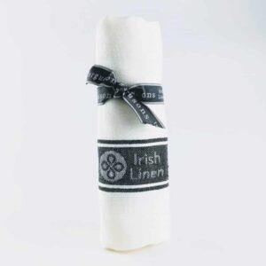 thomas ferguson 100% irish linen tea towel, quick dryer green tea towel, tea towel made in britain irish linen 1