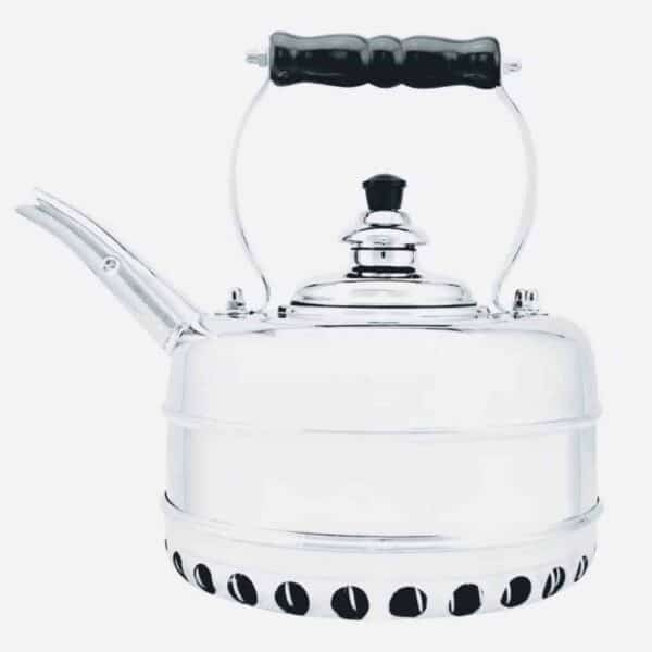 Heritage No4 Chrome Whistling Kettle
