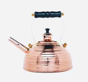 Richmond No.8 Beehive Whistling Copper Kettle 1