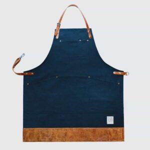 risdon risdon british navy apron, dark blue strong apron made in UK apron