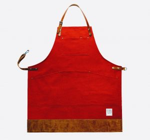 Factory Red Apron