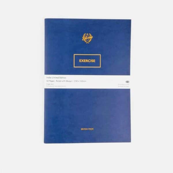 Silvine original Limited Edition Blot Blue Exercise Book