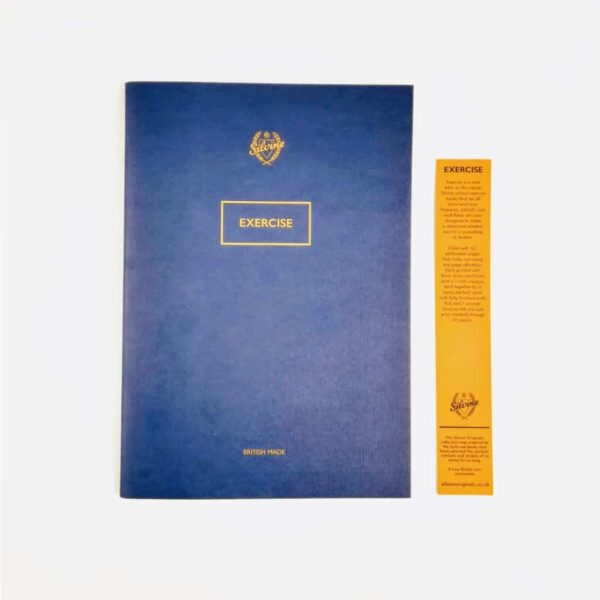 Limited Edition Blot Blue Exercise Book
