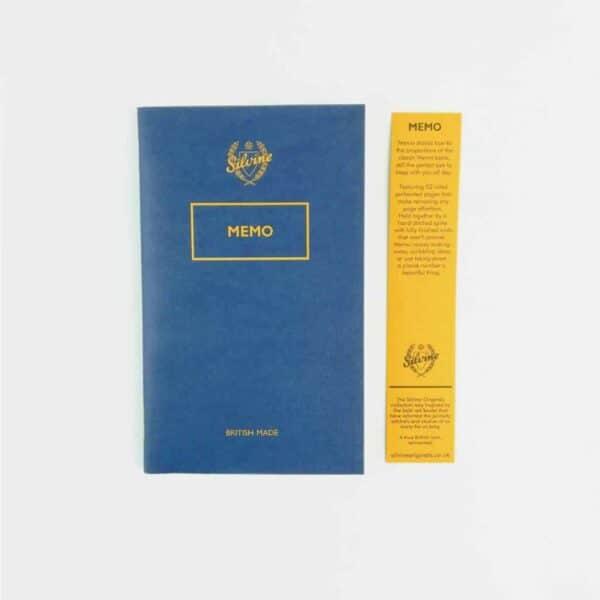 Limited Edition Blot Blue Memo Book