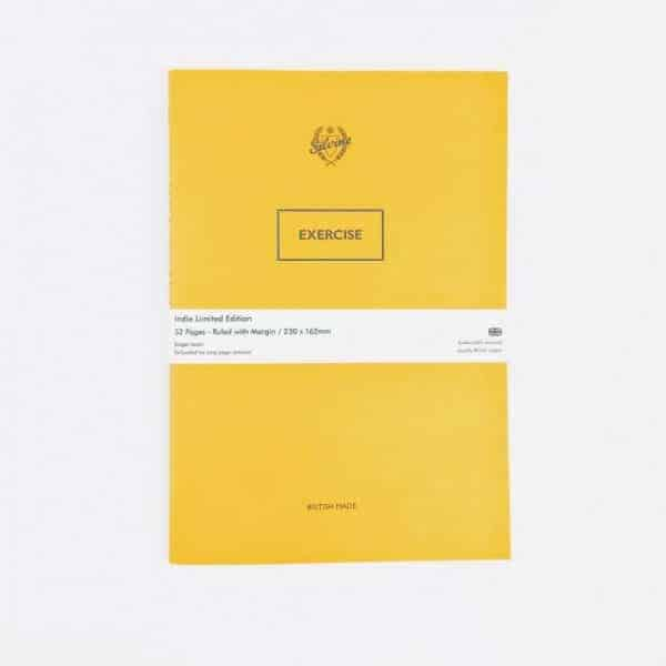 silvine originals Limited Edition Bumble Yellow Exercise Book