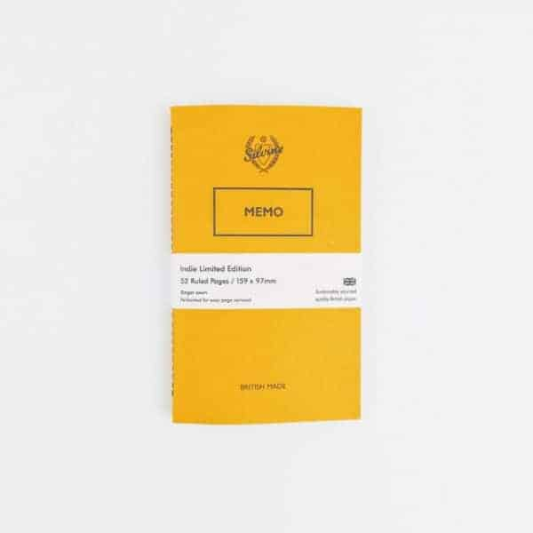 Limited Edition Bumble Yellow Memo Book