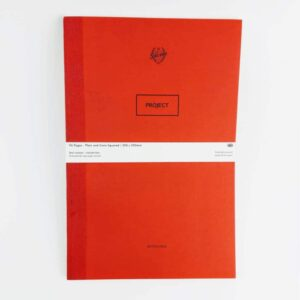 Silvine original red project book